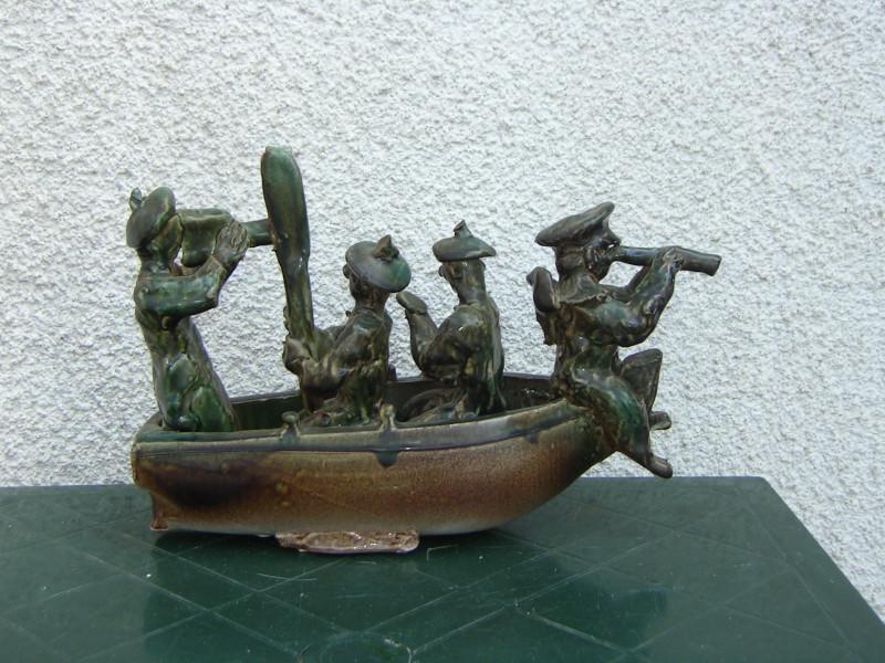 Quattro barche di Eliseo Salino