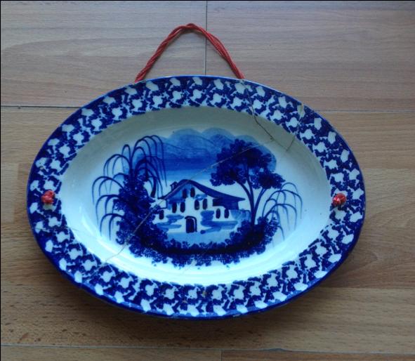 Il piatto blu