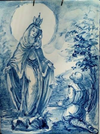 L'apparizione della Vergine